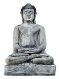 Ancient meditation Buddha Statue Stock Photo