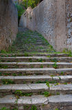 Ancient Mediterranean Stairs Stock Image