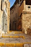 Ancient mediterranean street Stock Image