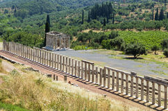 Ancient Messene, Greece Royalty Free Stock Images