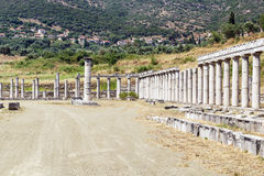 Ancient Messene, Greece Stock Photo