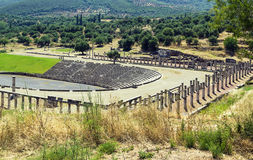 Ancient Messene, Greece Royalty Free Stock Photos