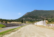 Ancient Messene, Greece Stock Photo