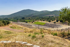 Ancient Messene, Greece Stock Images