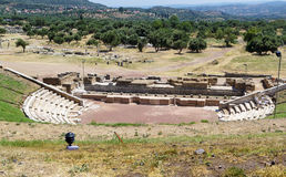 Ancient Messene, Greece Royalty Free Stock Photo