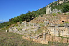 Ancient Messini Royalty Free Stock Images