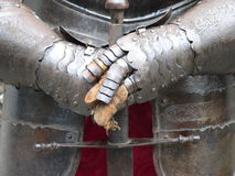 Ancient metal armor Stock Photo