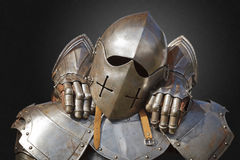 Ancient metal armor Royalty Free Stock Photos
