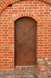 Ancient metal door Royalty Free Stock Image
