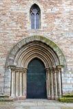Ancient metal entrance to catholic church Stock Photo