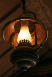 Ancient metal lamp Royalty Free Stock Images