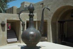 Ancient metalic jug Stock Photos