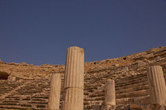 Ancient Miletus Theater in Turkey Royalty Free Stock Photography