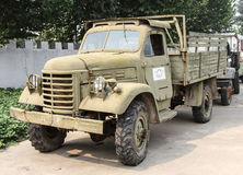 Ancient military truck. This truck is produced in 1930, belongs to the second world war when the japanese army, which participated in the war of aggression Royalty Free Stock Images