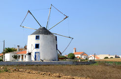 Ancient mill of Geraldes, Portugal Royalty Free Stock Image