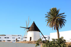 Ancient mill of Las Negras in Andalusia, Spain Royalty Free Stock Photo