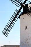 Ancient mill near Pozo Canada, La Mancha, Spain Royalty Free Stock Photos
