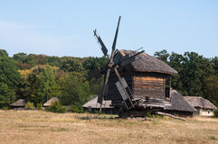 Ancient mill Stock Photo