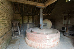 Ancient millwheel. Royalty Free Stock Photography