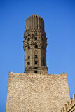 Ancient minaret Royalty Free Stock Images