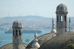 ancient minarets Royalty Free Stock Images