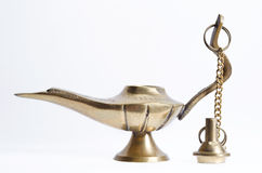 Ancient mini teapot Stock Photography