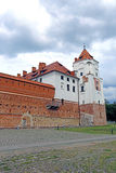 Ancient Mir Castle Complex in Belarus Stock Image