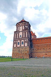 Ancient Mir Castle Complex in Belarus Royalty Free Stock Image