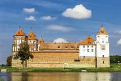 Ancient Mir Castle Royalty Free Stock Photography