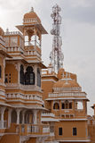 Ancient and modern in Rajasthan, India Royalty Free Stock Photos