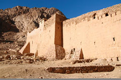 Ancient Monastery. In the Egyptian desert (captured with Canon 400d, Tamron 17-50/2.8,  ISO 100, RAW>TIFF>JPEG 1 Stock Image