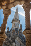 Ancient monastery of Batalha, Portugal Royalty Free Stock Images