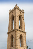 Ancient monastery bell tower, Cyprus Royalty Free Stock Photography