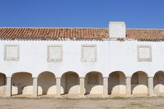 Ancient monastery Cabo Espichel Sesimbra, Portugal Royalty Free Stock Images