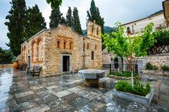 Ancient Monastery Kera Kardiotissa on Crete Stock Image