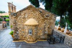 Ancient Monastery Kera Kardiotissa on Crete Stock Images