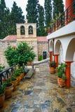 Ancient Monastery Kera Kardiotissa on Crete Royalty Free Stock Image