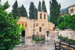 Monastery Kera Kardiotissa on Crete Island, Greece Royalty Free Stock Photo