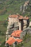 Ancient monastery in meteora Stock Image