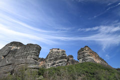 Ancient monastery in Meteora Stock Photography