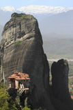 Ancient monastery in Meteora Stock Photos