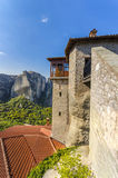 Ancient Monastery in Meteora Stock Images