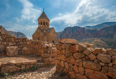 Ancient monastery Noravank, mountains, Amaghu valley, Armenia Stock Photography