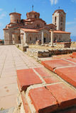 Ancient monastery plaoshnik Royalty Free Stock Images