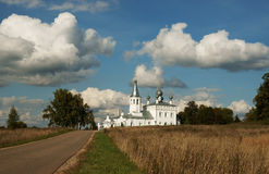 Ancient monastery in Russia. stock photos
