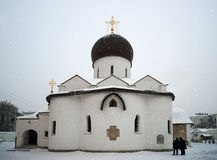 Ancient monastery in Russia. Royalty Free Stock Photo