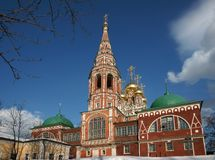 Ancient monastery in Russia. Stock Image