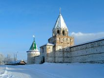 Ancient monastery in Russia Stock Images