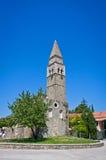 Ancient monastery San Barnardin, Portoroz, Slovenia Royalty Free Stock Photos
