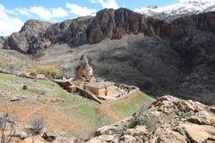 Ancient monastery Tatev in Armenia Royalty Free Stock Photos